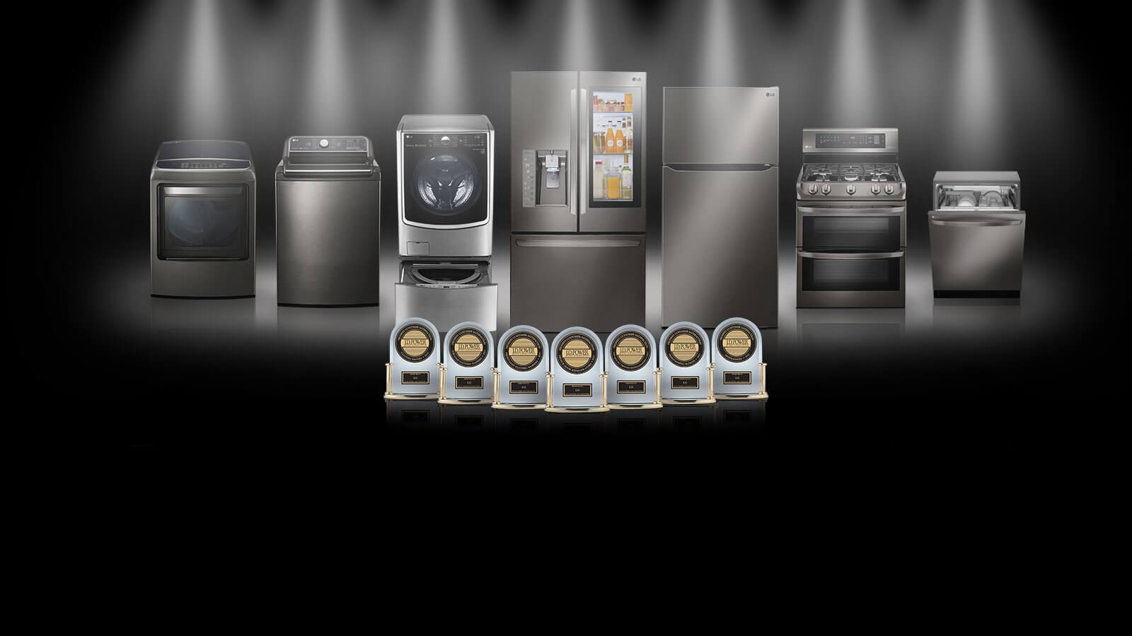 LG Kitchen and Wash J.D. Power Awards